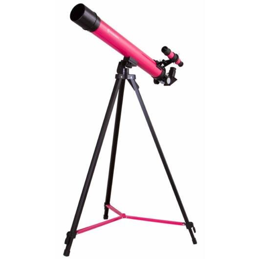 Bresser Junior Space Explorer 45/600 AZ teleszkóp, rózsaszín 70133