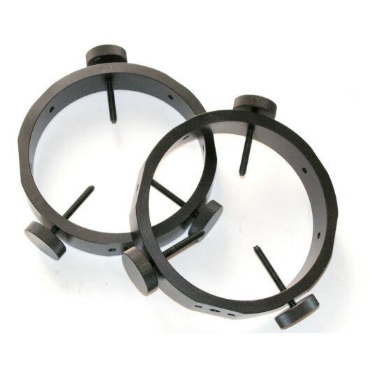 Vezetőtávcső gyűrűpár kb. 140mm tubusátmérőig, vastag falú, erős kivitelben tubG-160